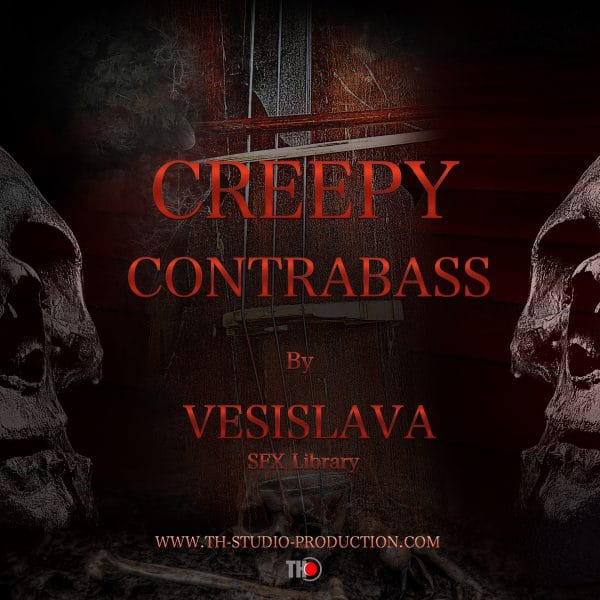 Creepy Contrabass Poster