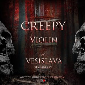 Creepy Violin Poster