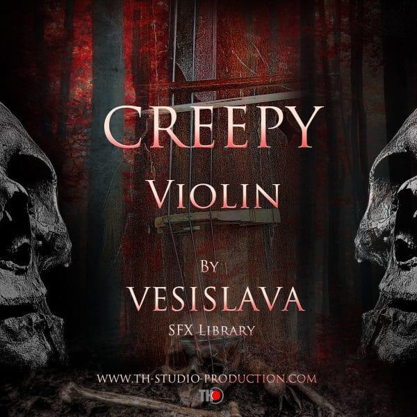 Creepy Violin Poster